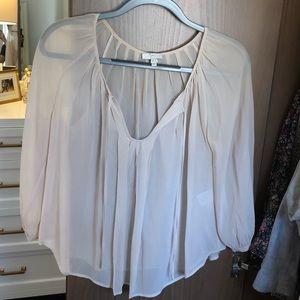 Joie sheer blouse